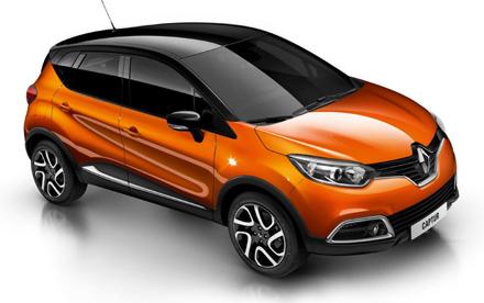 Renault Captur-Crossover Dynamique S Nav dCi 110