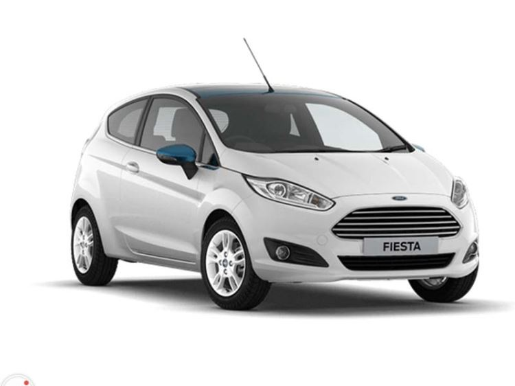 Ford Fiesta 1.25 82ps White Blue Colour Edition 3dr