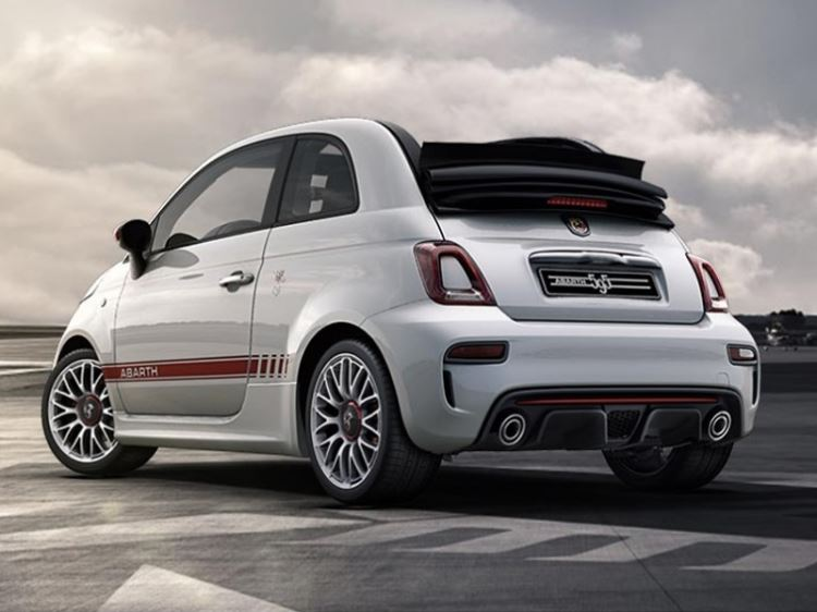 New Abarth 595C S4 Cars