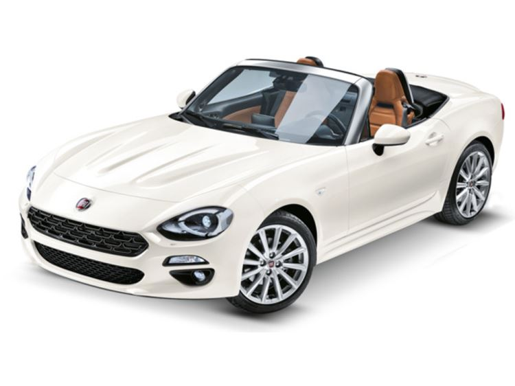 New Fiat 124 Spider Cars