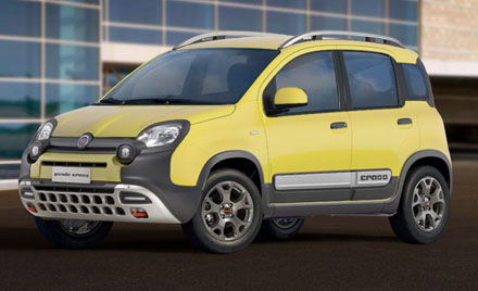 Fiat Panda CROSS 0.9 TWINAIR 90hp