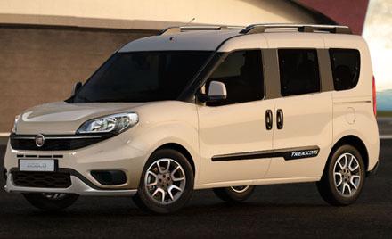 Fiat Doblo 1.6 Mulitjet 195Hp Euro 6 Trekking