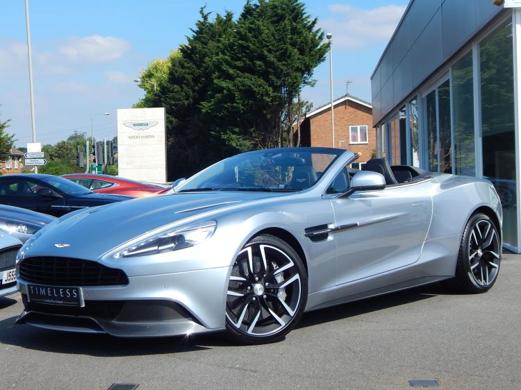 Aston Martin Vanquish Volante 568BHP Touchtronic 3 8 speed 5.9 Automatic 2 door Convertible (2015) image