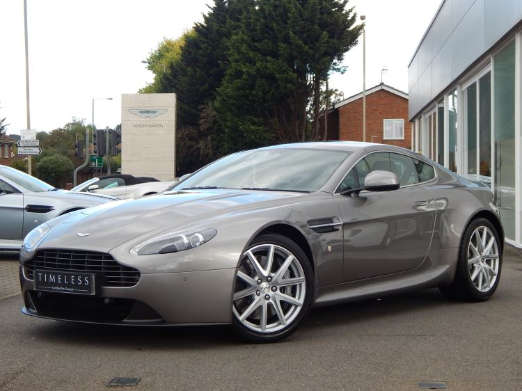 Aston Martin V8 Vantage Coupe 2dr Sportshift [420] 4.7 Automatic 3 door Coupe (2014) image