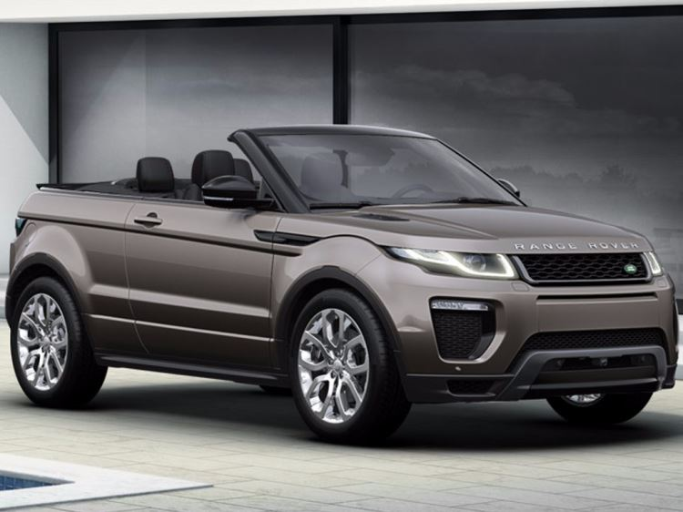 Range Rover Evoque Convertible is available to buy from Grange today