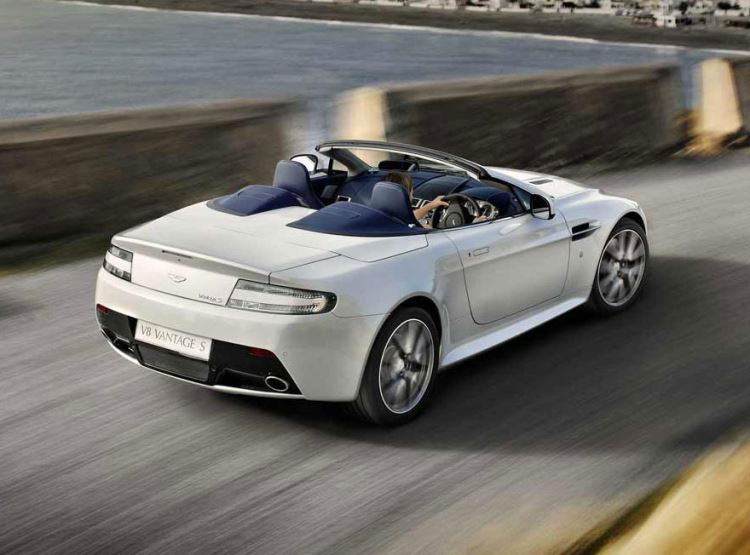 Aston Martin V8 Vantage S Roadster is available to buy from Grange today