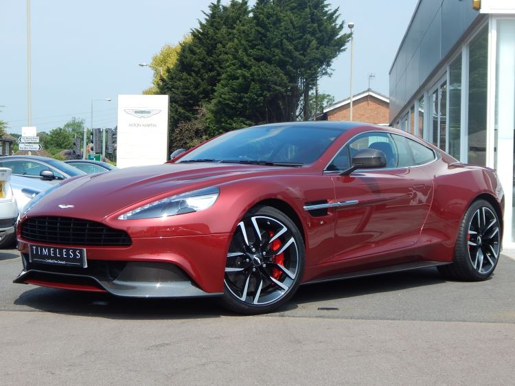 Aston Martin Vanquish V12 [568] 2+2 2dr Touchtronic 5.9 Automatic Coupe (2015) image