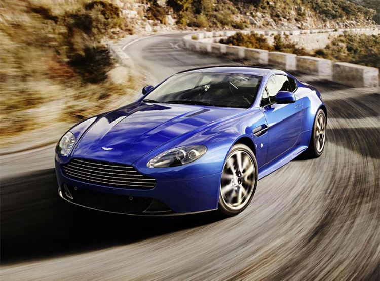 Aston Martin V8 Vantage S Coupe Manual