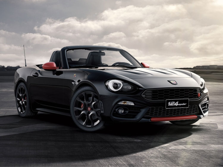 New Abarth 124 Spider Cars