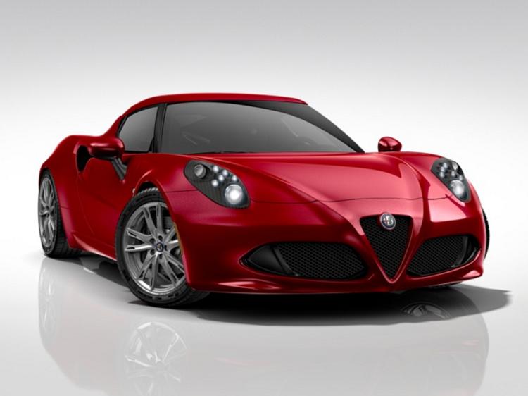 Alfa Romeo 4C Coupe 1750cc TB 240HP TCT