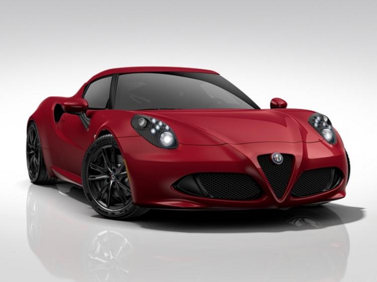 Alfa Romeo 4C Spider 1750cc TB 240HP TCT