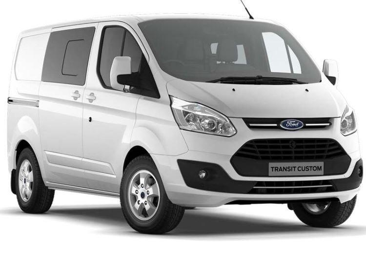 Ford Transit Custom Double Cab Limited L1 H1 290 130PS