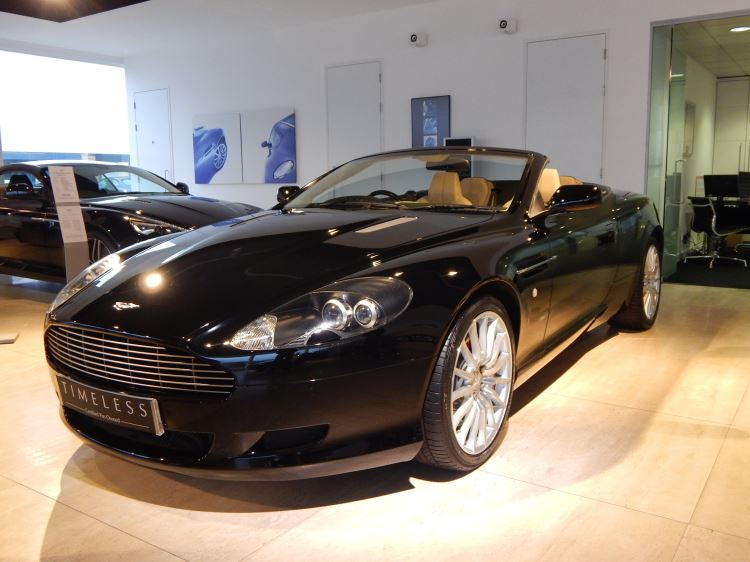 Aston Martin DB9 V12 2dr Volante Touchtronic 5.9 Automatic Convertible (2007) image