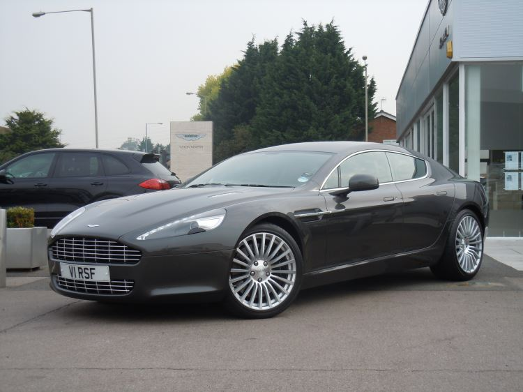 Aston Martin Rapide V12 4dr Touchtronic 5.9 Automatic 5 door Saloon (2012) image