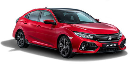Honda New Civic 1.0 I-VTEC Turbo SR 5dr CVT