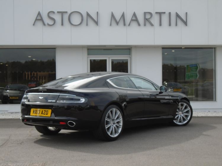 aston martin rapide v12 4dr touchtronic 59 automatic 5