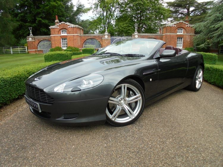Aston Martin DB9 V12 2dr Volante Touchtronic 5.9 Automatic Convertible (2006) image