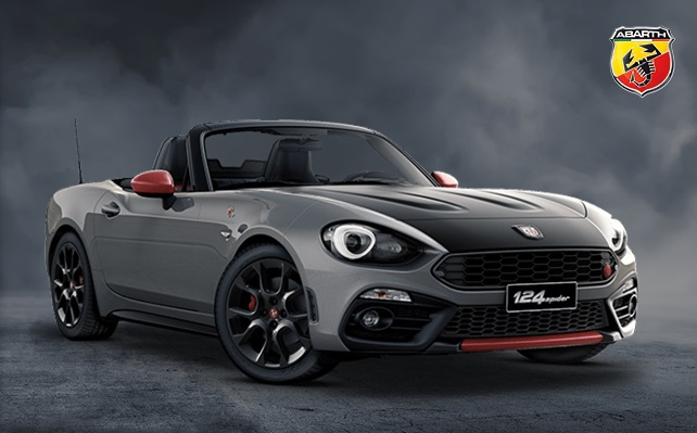 Abarth 124 Spider MTA 170 Auto - £329 Per Month - £2750 Contribution