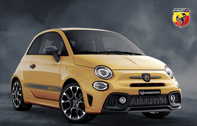 Abarth 595 Competizione 1.4 T-Jet 180 with £1 Deposit and £595 Abarth Contribution