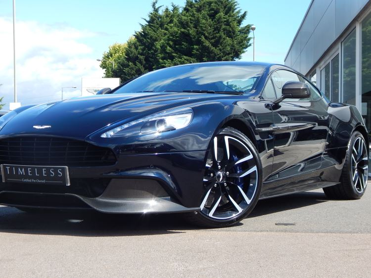 Aston Martin Vanquish V12 [568] 2+2 2dr Touchtronic image 5