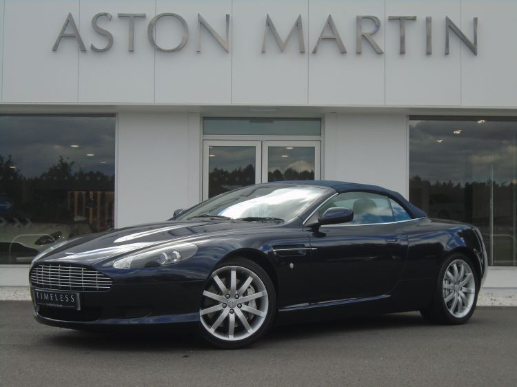 Aston Martin DB9 V12 2dr Volante Touchtronic 5.9 Automatic 3 door Convertible (2006) image