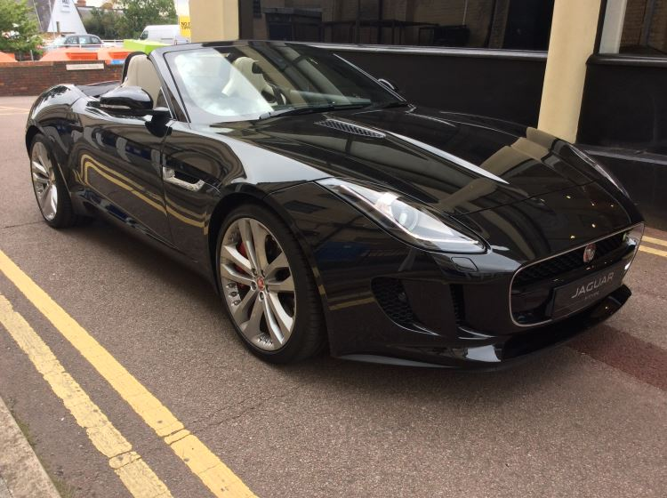 Jaguar F-TYPE 3.0 380PS S/C V6 S 2dr RWD Auto - with Sat Nav -  Automatic Convertible (2017)