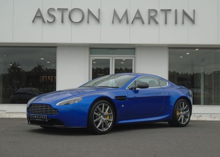 Aston Martin V8 Vantage 2dr Sportshift [420] 4.7 Automatic 3 door Coupe (2014) image