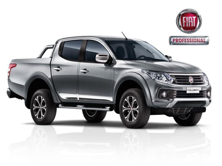 Fiat Fullback D/CAB 2.4 180 HP MAN LX INCL METALLIC JUST £229 pm