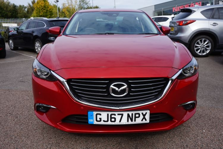 Mazda 6 Saloon 2 2d Sport Nav 4dr Diesel Saloon (2017) available from  Bolton Motor Park Abarth, Fiat and Mazda
