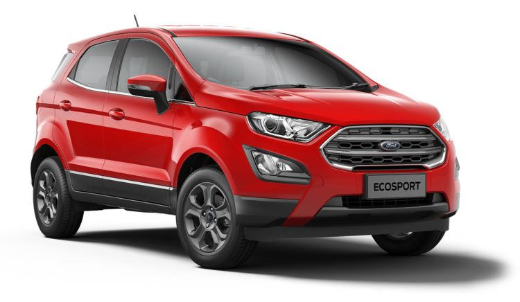 Ford New EcoSport 1.0 EcoBoost 125 Zetec Automatic 5dr