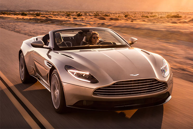 Aston Martin DB11 Volante - The return of the ultimate sports convertible GT