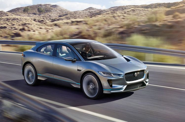 Jaguar  I Pace Orders now being taken for 2018 delivery.