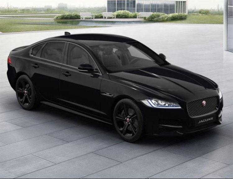 Jaguar Xf Saloon 2 0d 180ps R Sport Auto Black Edition