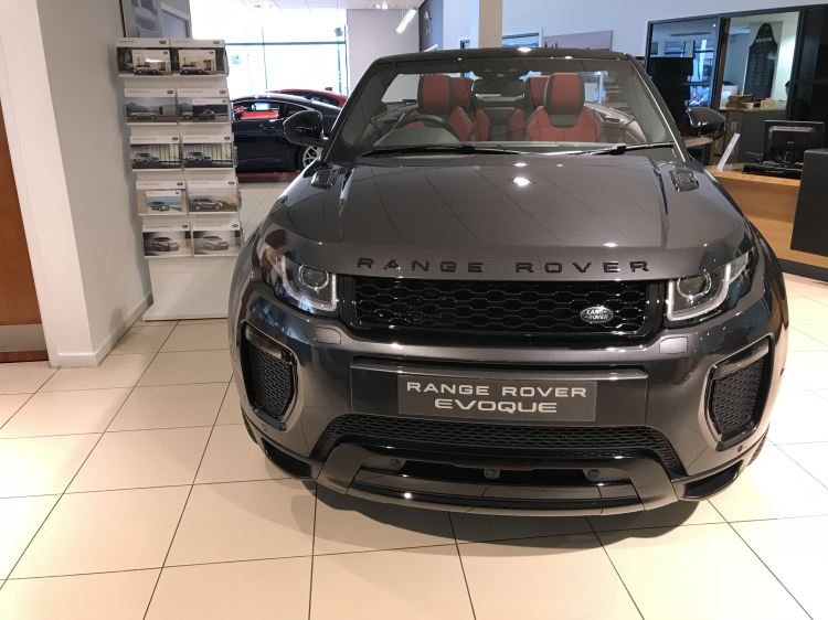 Land Rover Range Rover Evoque Convertible 2.0 5Dr TD4 HSE Dynamic 180HP  Diesel Automatic 3 door Convertible (2017)