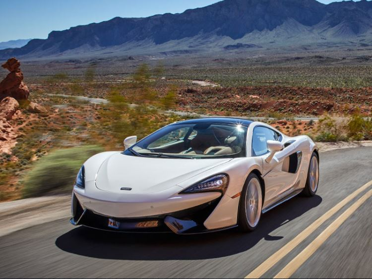 McLaren 570GT - For The Journey
