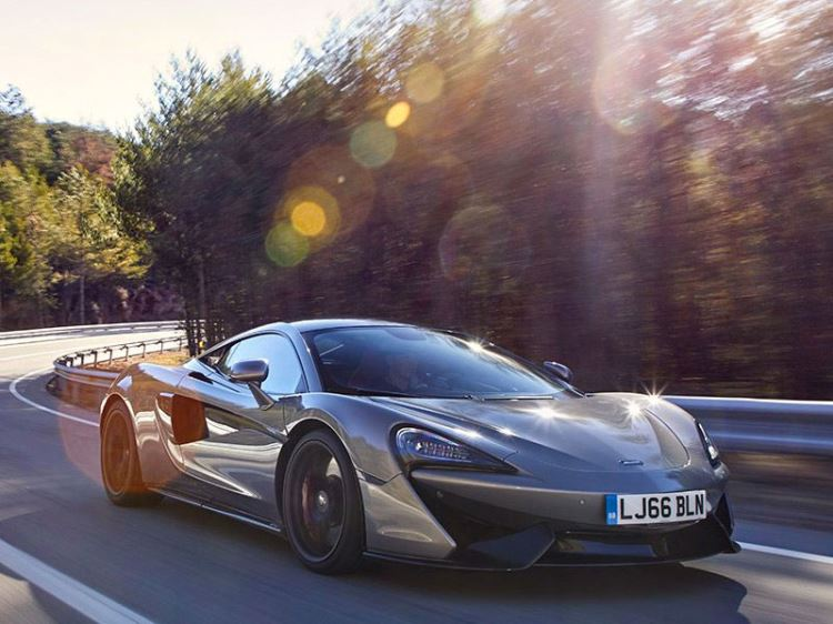 McLaren 570S Coupe - For The Drive
