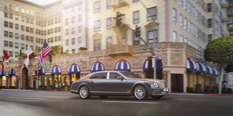 Bentley Mulsanne Extended Wheelbase - The most luxurious car in the range