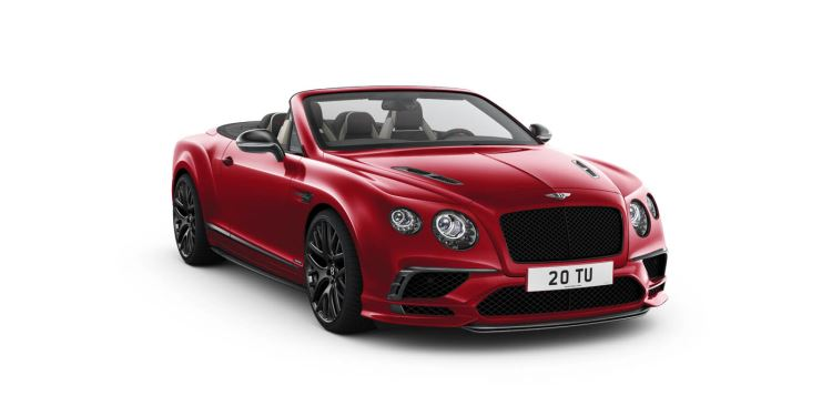 Bentley Continental Supersports Convertible - Takes exhilaration to another level