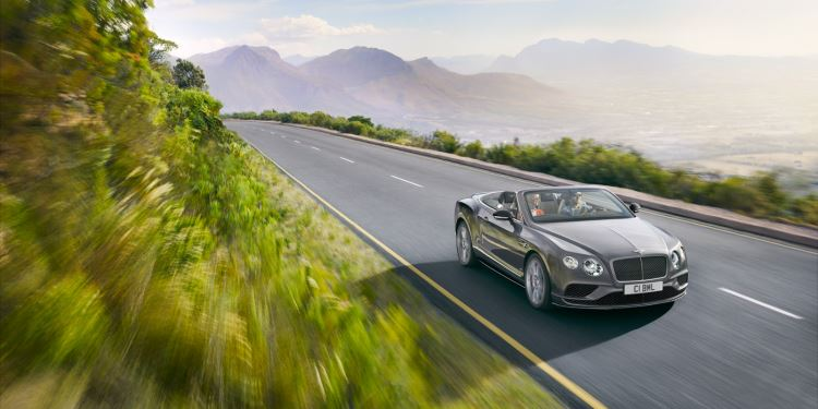 Bentley Continental GT V8 S Convertible - Incredible sound, best enjoyed with the top down