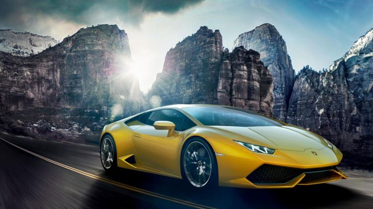 Lamborghini Huracan Coupe - Instinctive Technology