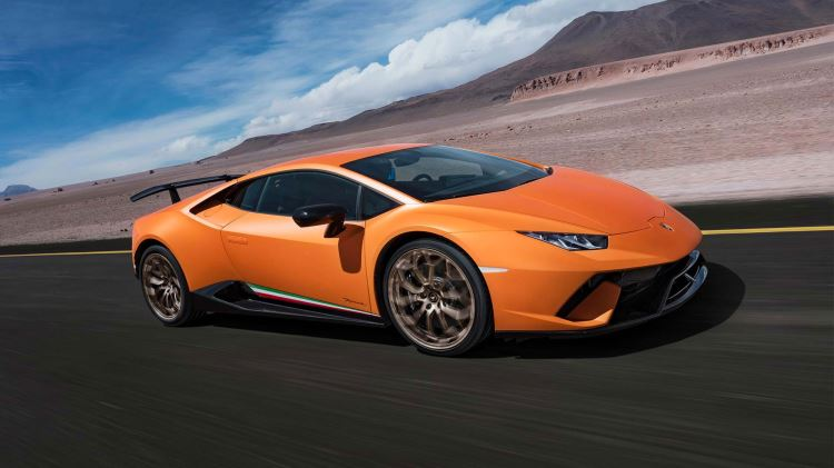 Lamborghini Huracan Performante - Raging Technology