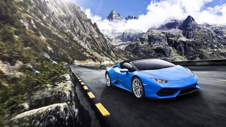 Lamborghini Huracan Spyder - Inspiring Technology