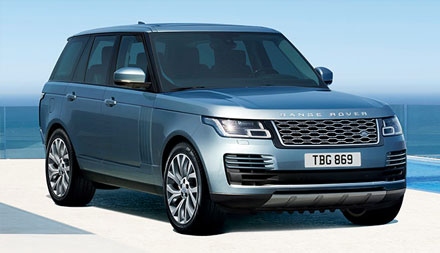 New Range Rover Vogue SE