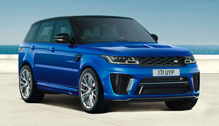 Land Rover New Range Rover Sport SVR