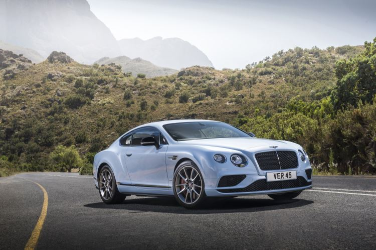 Bentley Continental GT V8 S Coupe - Beautiful and sleek Coupe
