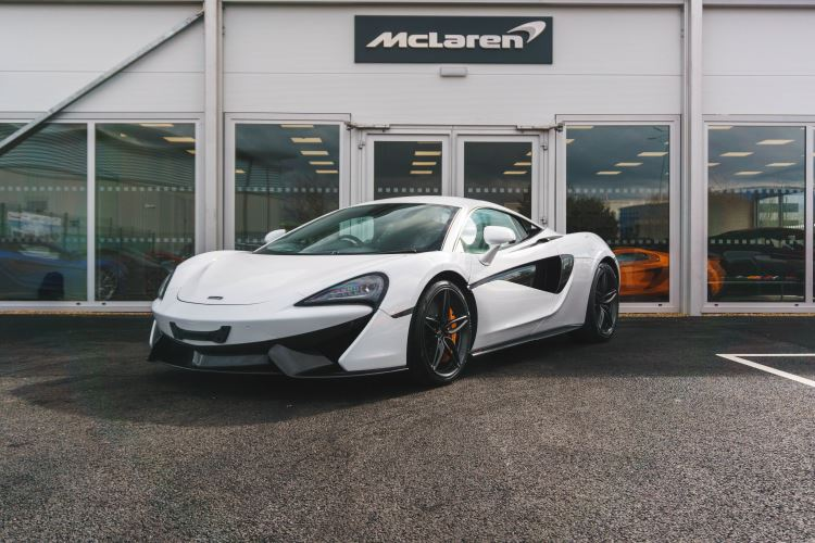 McLaren 570S Coupe 570S COUPE SSG 3.8 Semi-Automatic 2 door Coupe (2017) image