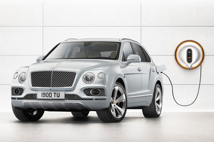 Bentley Bentayga Hybrid -  Bentley's first luxury hybrid