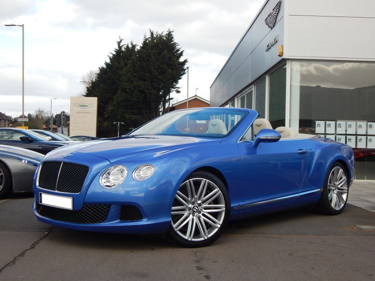 Bentley Continental GTC 6.0 W12 Speed 2dr Automatic Convertible (2013) image