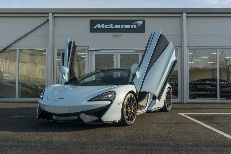 McLaren 570S Spider MSO LAUNCH EDITION image 8
