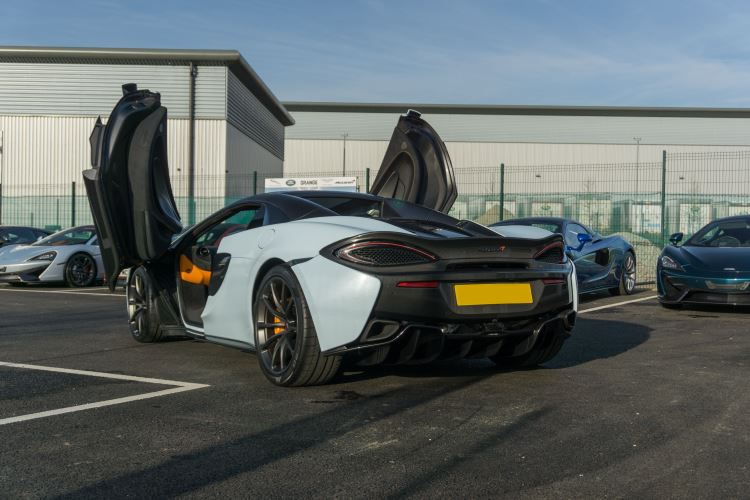 McLaren 570S Spider MSO LAUNCH EDITION image 11